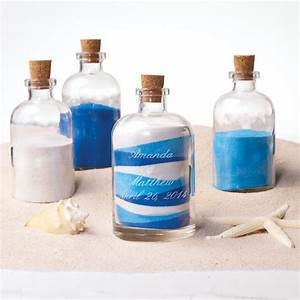 sand ceremony decanter set With color sand for wedding ceremony