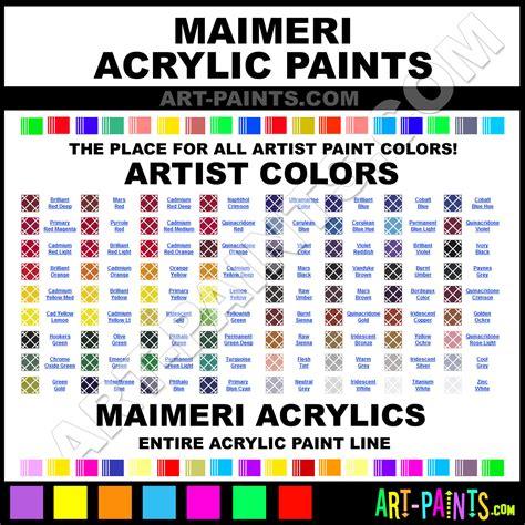 maimeri acrylic paint brands maimeri paint brands
