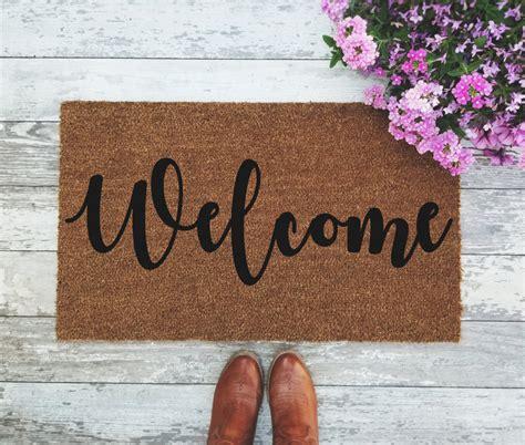 cool doormats australia welcome doormat handpainted door mat quote unique