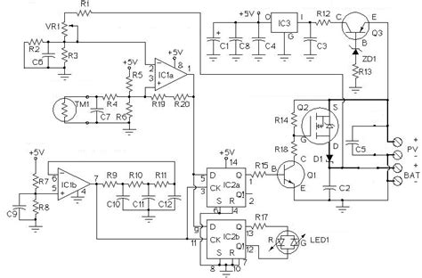 Solar Charge Controller Circuit Download Scientific