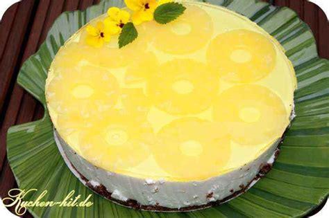 ananaskuchen ein quarkkuchen ohne backen sommerkuchen