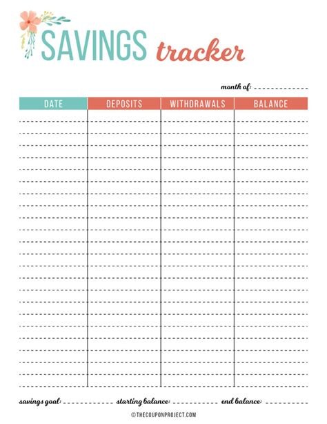 budget  financial planning printables