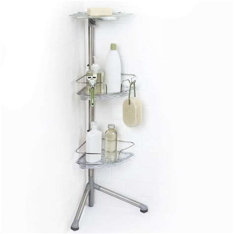 bathroom simple design  standing shower caddy   bathroom accessories tenchichacom