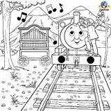 Thomas Coloring Train Percy Friends Engine Tank Colouring Toys Games Musical Instrument Activity sketch template