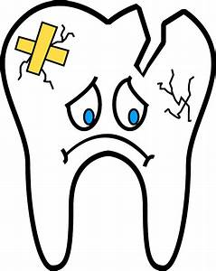 Clipart - Unhealthy Tooth