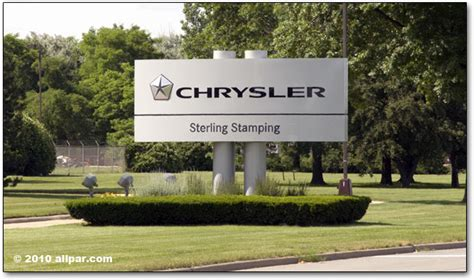 Sterling Heights Chrysler Plant by Chrysler Sterling Heights Assembly And Sting Plants