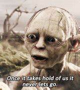 mygifs mine lord of the rings The Lord of the Rings Gollum ...