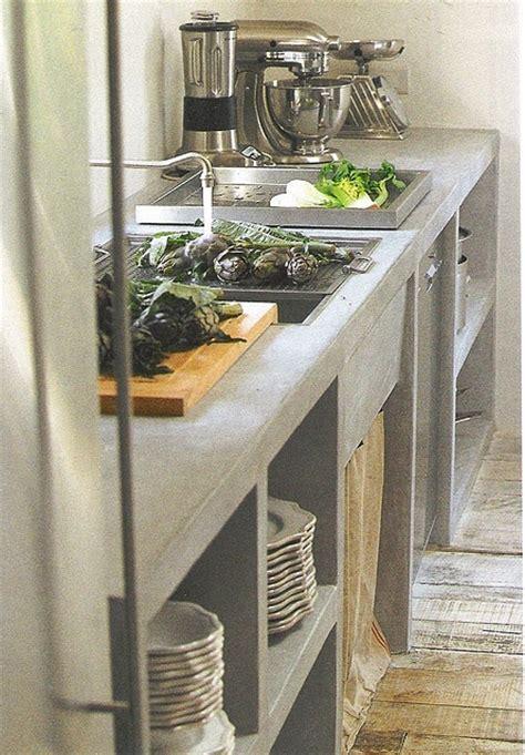 mesadas de cemento  gesto actual en tu cocina decocasa