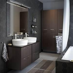 Commode Salle De Bain Ikea : badkamer ikea ~ Teatrodelosmanantiales.com Idées de Décoration