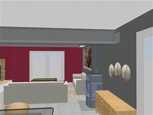 Les 4 Murs Bordeaux : probl me de couleurs demande de conseils ~ Zukunftsfamilie.com Idées de Décoration