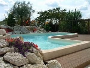 vue sur cour roches decoratives exterieures vue sur cour With amenagement petit jardin avec piscine 10 parc