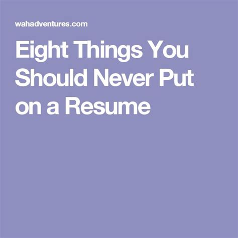 Things You Should Put On A Resume by 17 Best Images About Work Work Work On The