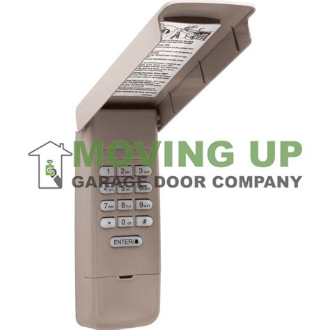 liftmaster max keyless entry garage door opener keypad