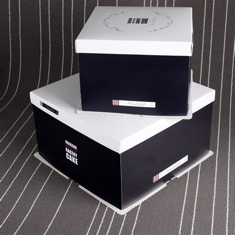 packaging factory wholesale custom design paper cake box