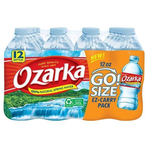 Ozarka Brand 100% Natural Spring Water  12pk12 Fl Oz