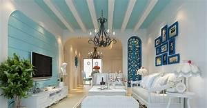 Mediterranean style 3D interior design Download 3D House