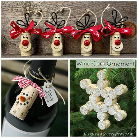 christmas craft ideas wine cork christmas craft ideas crafty morning