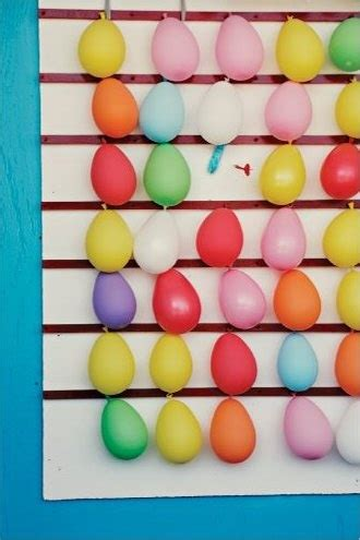 Carnival Games Balloon Wall