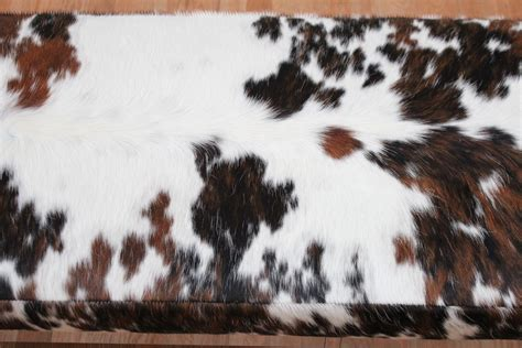 How To Cowhide by Chrome Cowhide Bench