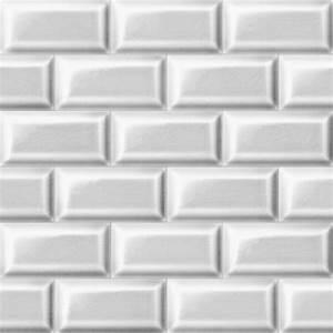 Carreau Metro Blanc : papier peint carrelage de m tro blanc danseux d coration ~ Preciouscoupons.com Idées de Décoration