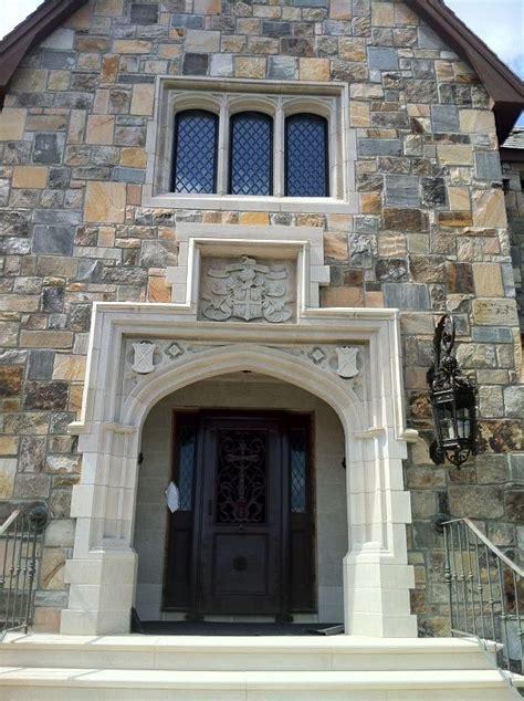 classic tudor arch inspired  true tudor era doorway