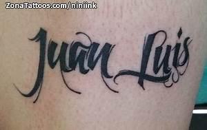 Tatuajes y diseños del nombre Luis ZonaTattoos