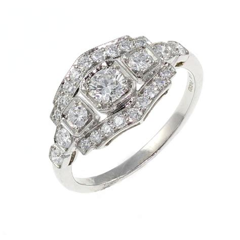 awesome art deco wedding rings uk matvuk com