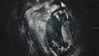 Lions Roar Monochrome ...