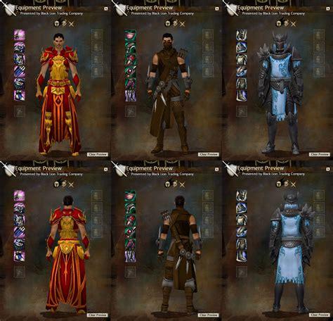 bureau wars guild wars 2 level 80 gear guide oni player
