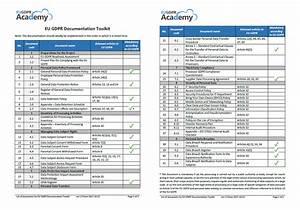 eu gdpr documentation toolkit With gdpr document