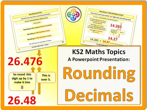 rounding decimals ks2 by magictrickster teaching