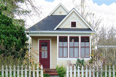 Cottage Style House Plan 1 Beds 1 Baths 310 Sq/Ft Plan