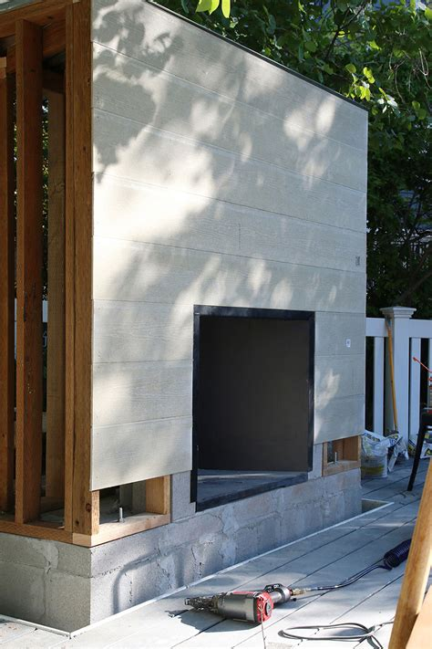 how to build a stacked fireplace chris diy outdoor fireplace homes com