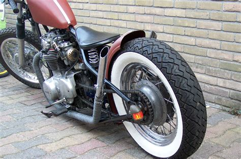 Bobber Motorcycle Custom Motorbike Bike Chopper Hot Rod