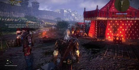 witcher  gameplay  gamersyde