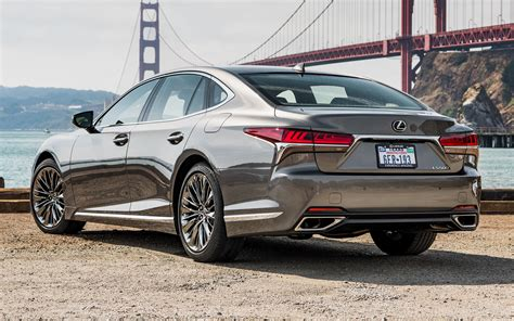 Lexus Ls (2018) Us Wallpapers And Hd Images