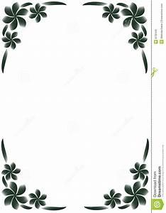 Cadre Noir Et Blanc : cadre floral noir et blanc photo libre de droits image 8732445 ~ Teatrodelosmanantiales.com Idées de Décoration