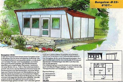 Ddr Gartenlaube Sanieren bungalows aus dem ddr genex katalog das kraftfuttermischwerk