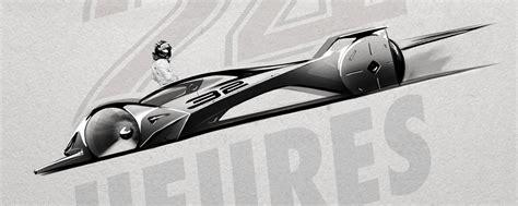 Le Glühbirnen Design by Le Mans 2030 Concept For Michelin Design Challenge 2017