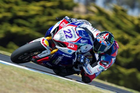 Alex Lowes The Pacesetter On Opening Day Of Wsbk Season 2014
