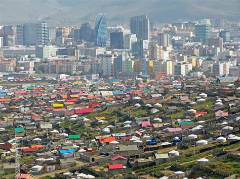 In Mongolia The Skyline By The Steppes The New York Times