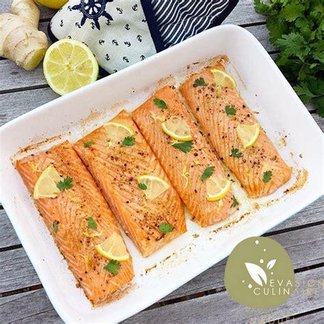 cuisiner saumon entier saumon au citron et gingembre
