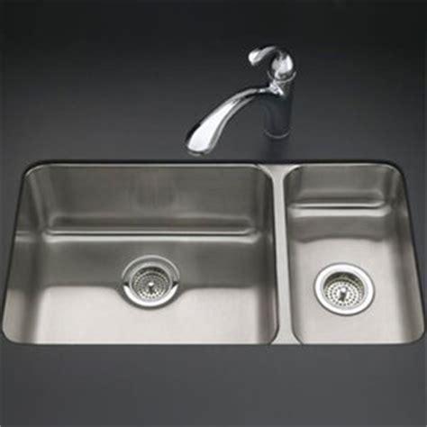 kohler stainless steel kitchen sinks undermount k3174 na undertone stainless steel undermount 9649