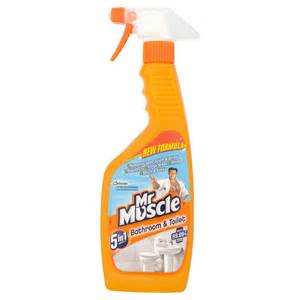 mr muscle bathroom and toilet 5in1 trigger spray 500ml at
