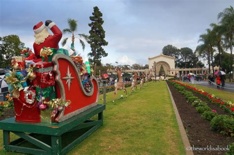 festival of lights balboa park best christmas destinations for families in the u s a