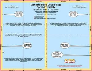 Standard Sized Double Page Spread Template | Ka-Blam ...