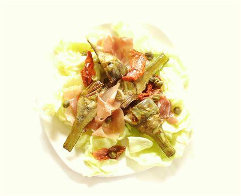 cuisine artichaut salade d 39 artichaut violet au jambon cru blogs de cuisine
