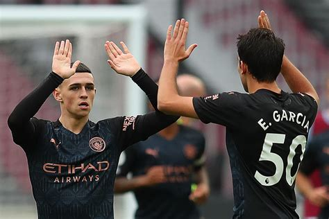 Manchester City player ratings vs West Ham United- The 4th ...