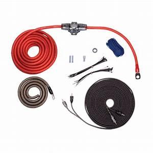 Rockford Fosgate Rfk4i  Kit W  Rca  4 Awg Amp Wiring Kit