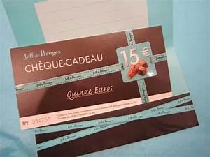 Cadeau Moins De 2 Euros : petits plaisirs offrir jeff de bruges bon cadeau jeff de bruges de 15 euros ~ Teatrodelosmanantiales.com Idées de Décoration